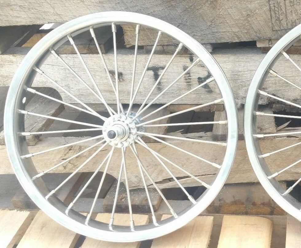 FRONT ONLY 16 inch Front Heavy Duty bicycle wheel 10g spokes 16x2.125