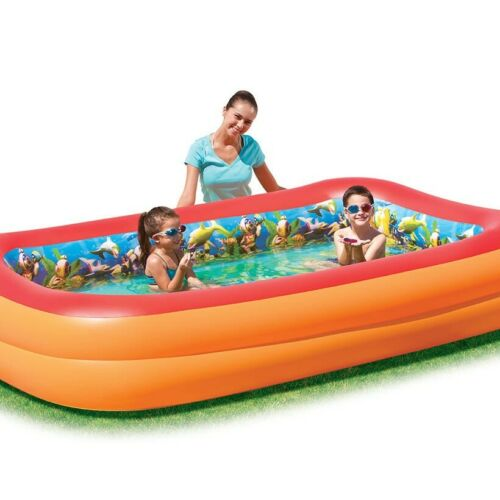 "/""Bestway Planschbecken /""/""Splash /&Play/""/"" interactive 262x175x51cm Kinder Gartenpo"
