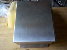 New Hoffman Electrical Stainless Steel 10 X 8 Box 1080chnfss