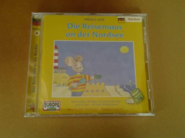 CD - DIE REISEMAUS AN DER NORDSEE - ANGELA LENZ -