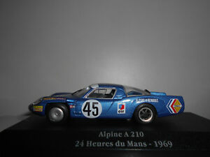 ALPINE-A210-GORDINI-24-H-LE-MANS-1969-SAGA-GORDINI-ATLAS-IXO-1-43