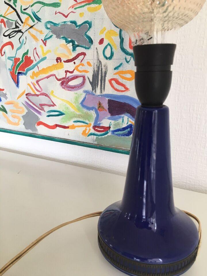 Anden bordlampe, Keramik