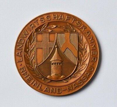 Ausdauernd Medaille Landwirtschaftskammer Rheinland Nassau Für Hervorragende Verdienste