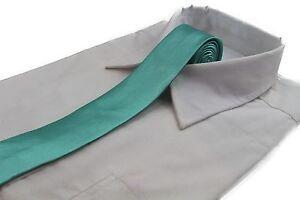 CHEAP-5CM-MENS-MINT-GREEN-TIE-Necktie-Neck-Skinny-Ties-Wedding-Races-BARGAIN