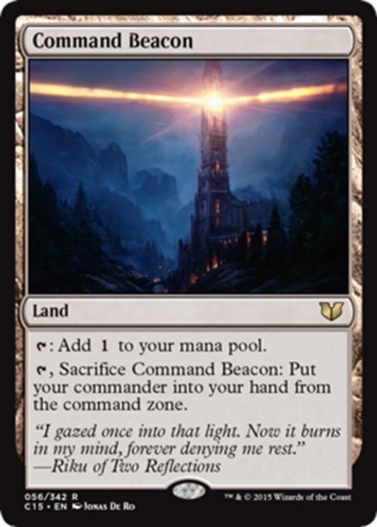 MTG Magic - (R) Commander 2015 - - - Command Beacon - NM M ec42e1