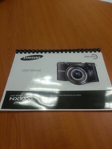 samsung nx1000 20 3mp nx smart digital camera full printed rh ebay co uk samsung camera pl200 user manual samsung camera wb800f user manual
