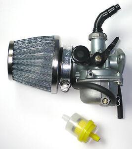 1981 corvette fuel filter carburetor and air filter 50cc 90cc 110cc atv go-kart carb ...