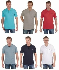 Mens-Plain-Cotton-Pique-Polo-Shirt-with-Pocket-Small-to-5XL