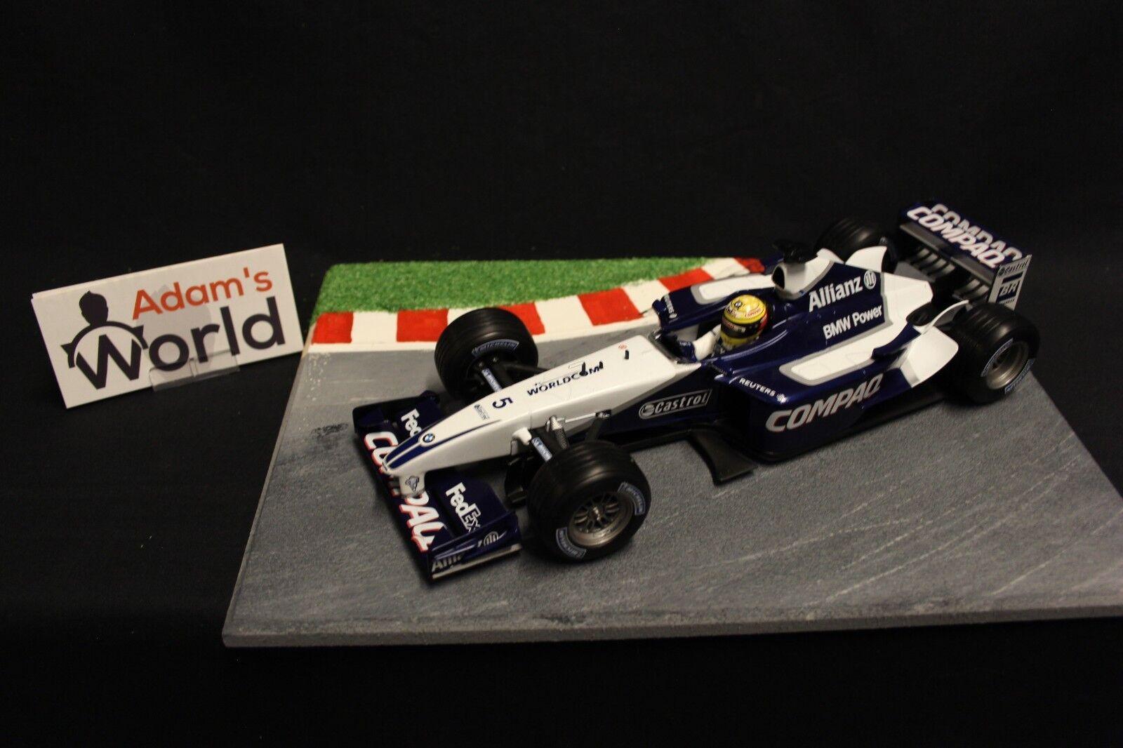 heta hjul Williams BMW FW24 2002 1 18 Ralf Schumacher (GER) (F1NB)