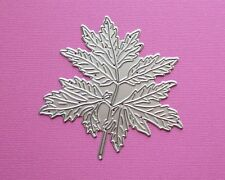 Die cutting - matrice de coupe - feuille large - feuillage - foliage - leaf