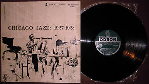 LP-CHICAGO-JAZZ-1927-1928-Odeon-60-ITALY-jazz-Condon-Freeman-Crepax-artwork-NM
