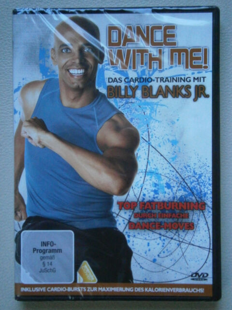 "DVD ""Dance With Me!"" Das Cardio-Training mit Billy Blanks Jr. - NEU"