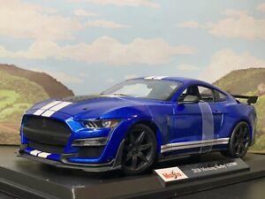 Maisto-2020-Ford-Mustang-Shelby-GT500-Edicion-Especial-1-18-Nuevo-en-Caja-31388