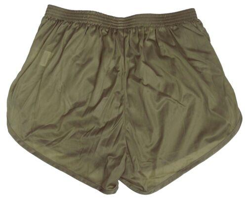 Running Silkies Track Shorts Tan Men/'s Medium Soffe Nylon Ranger Panties