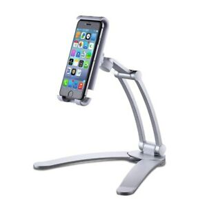 Tablet-Universale-Regolabile-Desktop-Stand-Supporto-Mount-Mobile-Phone-iPad-iPhone