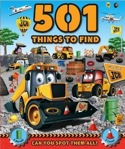 JCB 501 JCB Mega Machines to Find Activity Book. Have fun finding Joey, Doug and