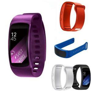 Gurt-Silikon-Smartwatch-Band-Schweissband-Ersatz-for-Samsung-Gear-Fit-2-SM-R360