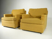 2 Classic Vintage 50's Style Club Lounge Chairs Mid Century Modern Probber Era