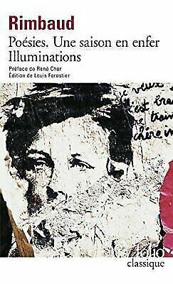 Poesies Une Saison En Enfer Illuminations Fre By Rimbaud For Sale Online Ebay