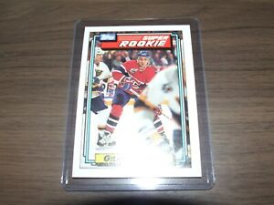1992-93-Topps-13-Gilbert-Dionne-rookie-Montreal