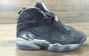 8fc3f8353e33 Nike Air Jordan VIII 8 Retro Black White-Graphite Chrome 305381-003 ...