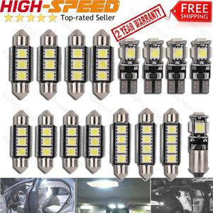 16X-SMD-LED-Innenraumbeleuchtung-Passt-Fuer-VW-Passat-B5-GP-3B-3BG-Xenon-Weiss-Set