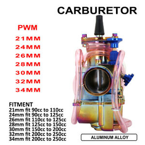 New-21mm-24mm-26mm-28mm-30mm-32mm-34mm-PWK-Carburetor-Carb-For-110cc-200cc-250cc