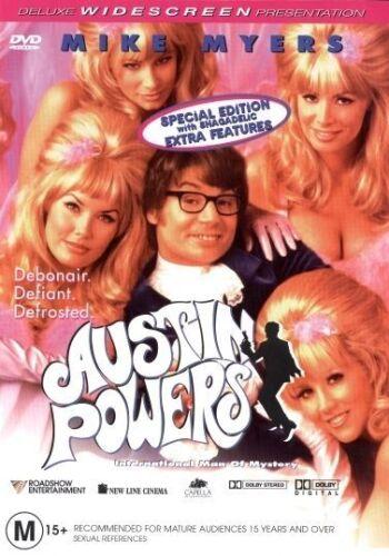 1 of 1 - Austin Powers - International Man Of Mystery (DVD, 1998) Brand New