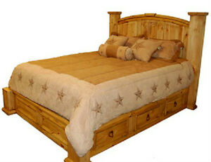 Image Is Loading King Size Under Storage Bed Real Solid Wood