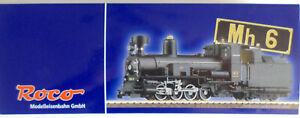 Roco-33260-H0e-Dampflok-Mh-6-der-Mariazellerbahn-in-Museum-Ausfuehrung