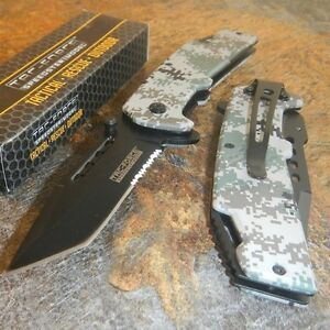 TAC-FORCE-Military-Digital-Camo-Tanto-Spring-Assisted-Open-Tactical-Pocket-Knife