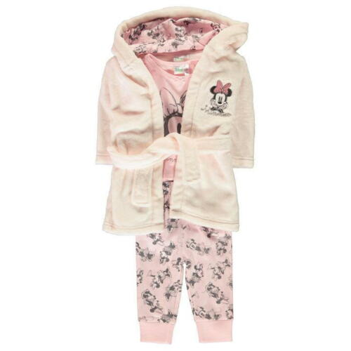 Disney Minnie Mouse Souris Bébé Set 3tlg Peignoir 56-92 pyjama