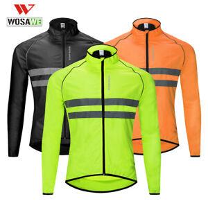 Cycling-Jackets-Giacca-da-ciclismo-Cappotto-riflettente-antivento-per-bicicletta