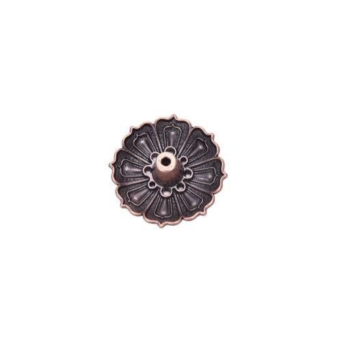 9 Holes Lotus Incense Burner Holder Flower Statue Censer Plate For Sticks/&ConeYR
