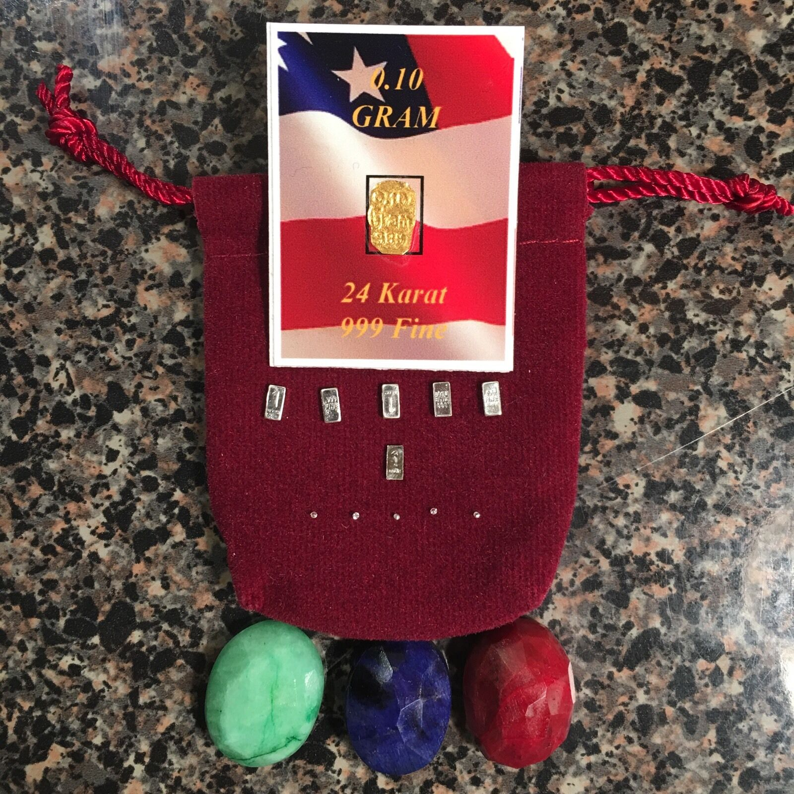 Survival Doomsday Barter Treasure Pouch;Precious Metal&Gems;Bug  Out;Prepper;Rare  the latest models