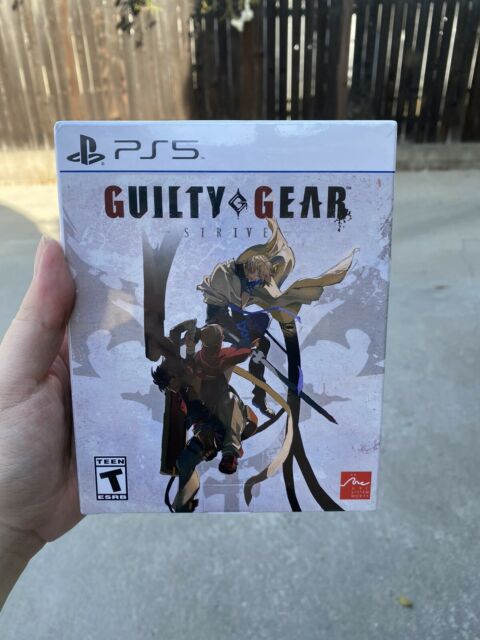 Guilty Gear STRIVE Ultimate Edition w/ Season Pass 1 (PlayStation PS5 USA Ver)
