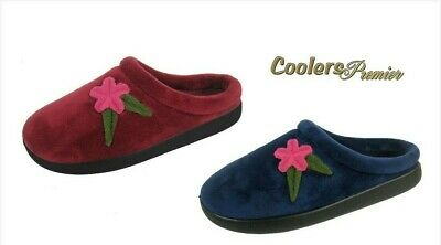 Slippers with Pom Pom   FREE POST   BRAND NEW Coolers Ladies Knitted Boot
