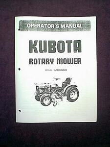 kubota gl 6000 parts manual