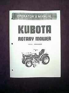 kubota gl 6000 parts manual