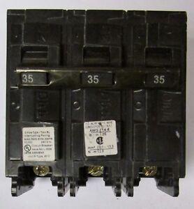 Siemens B335 3pole 35amp 240v circuit breaker type BL New 1 year warranty!