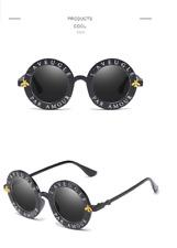 2b5183d4f4b item 3 Unisex Round Retro Sunglasses Vintage Glasses Circle Classic Bee  Letter Eyewear -Unisex Round Retro Sunglasses Vintage Glasses Circle  Classic Bee ...