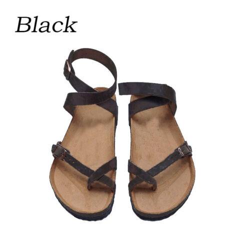 Women  Gladiator Roma Flat Strappy Sandal  Summer Beach Shoes Flip Flops