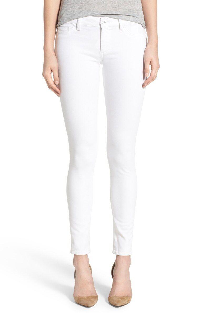 NEW  DL1961 'Emma' Power Legging Jeans DL1961 SZ 26 Porcelain