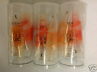 3 X L'oreal Colour Juice Minis Sheer Juicy Lip Gloss - Scene Stealers - New.