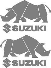 2x SUZUKI RHINO STICKERS JIMNY SJ SJ410 VITARA 500MMX300MM