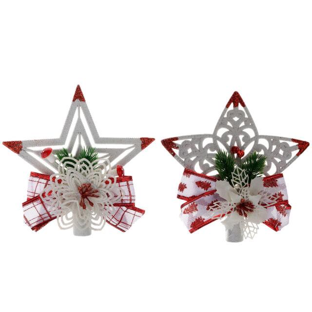 Glittering Star Tinsel Garland Christmas Wedding Party DIY Decor Crafts Gift