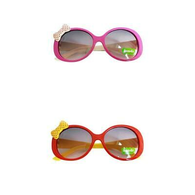 2Pcs Outdoor Kids Frame Girls Children Toddler Popular Sunglasses Boys UV400