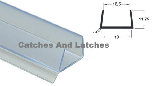 1 x PLINTH SEALING STRIP 18-19mm KITCHEN PANEL THICKNESS 2375mm Length FREE P/&P