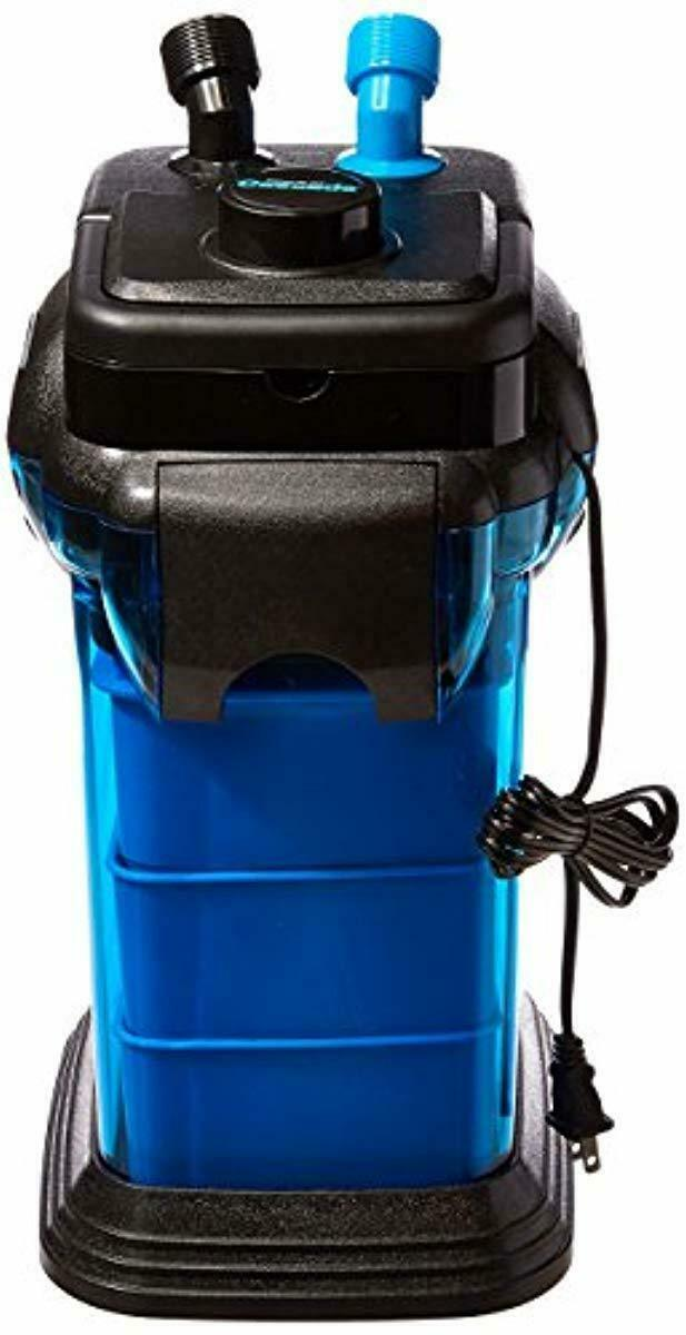 Penn Plax Cascade Canister Aquarium Filter For Aquariums up to 100 Gallon Blau