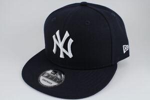 fa3e4c22c6ce7 new era 9fifty basic snapback hat cap mlb new york ny yankees navy ...